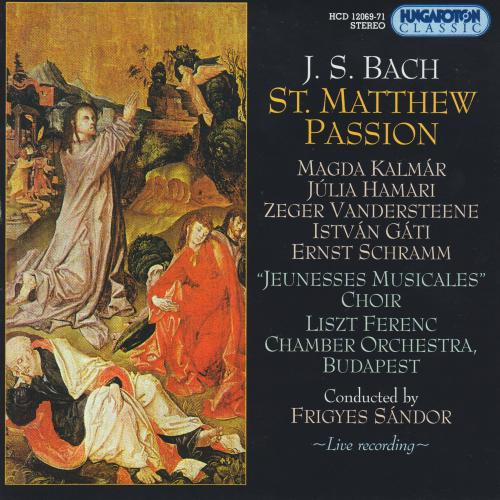 Bach Matthew Passion cover